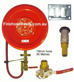 Fire hose reel parts included